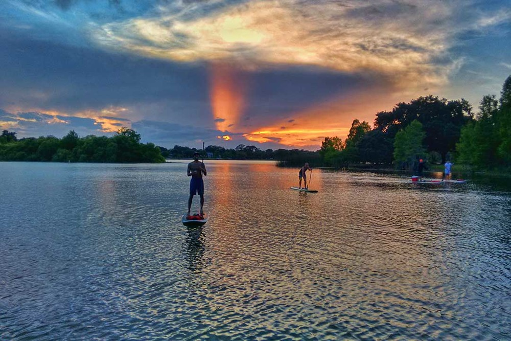 Dudes Paddleboarding on Lake Ivanhoe.jpg