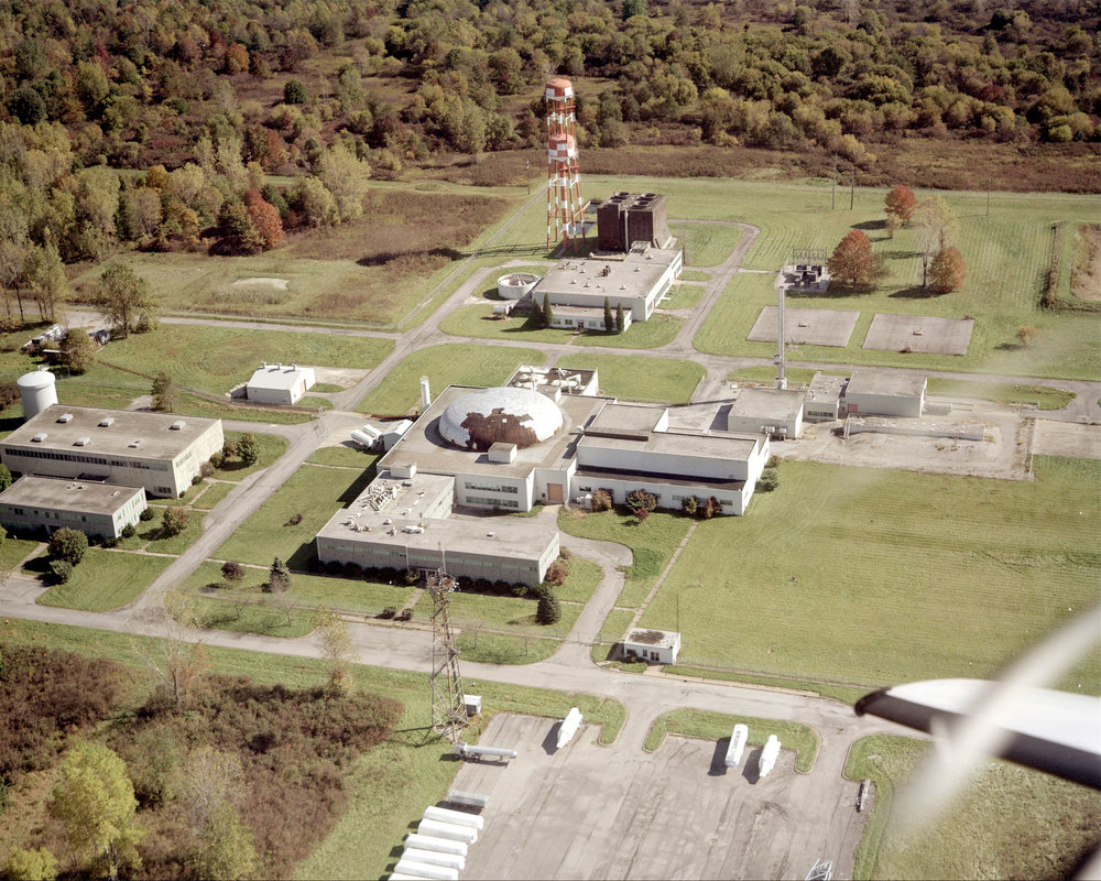 NASA — Glenn Research Center Plum Brook Station — reactor facility almost 30 years after its shutdown