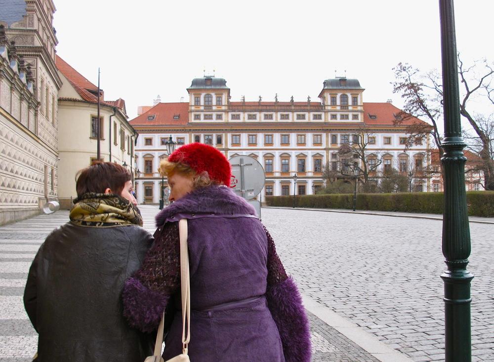 The ladies of Prague were so classic.