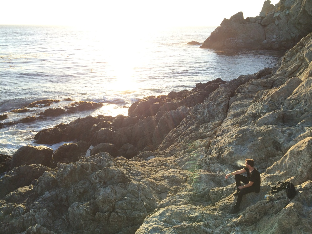 Adam and I snagged the very last camping spot in Big Sur on the way down from San Francisco. Sunset hikes, a fire, beers, and the summer tour came to a beautiful close.