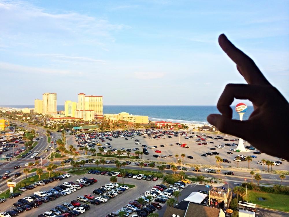 Pensacola Beach, FL. Adam's hometown.