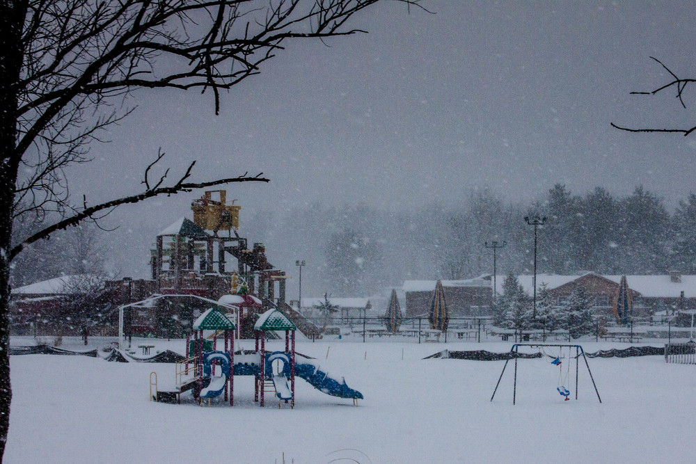 Winter Playground - Warrens, WI