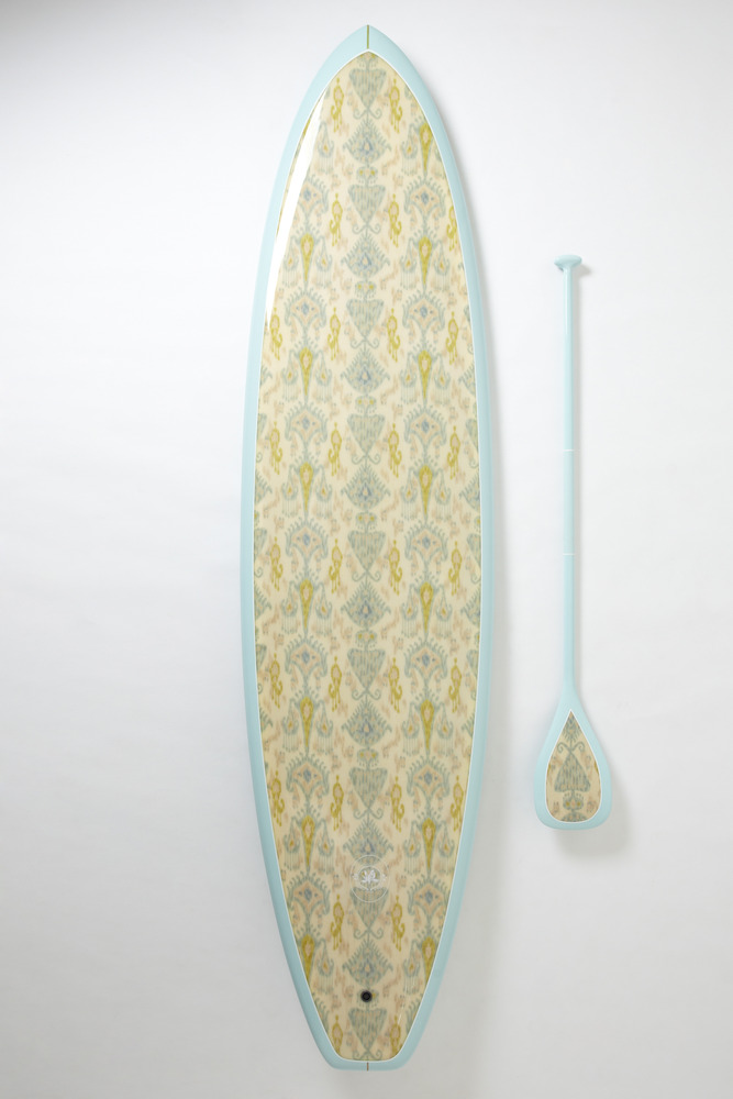 Board by  Saffron James . Perhaps for you to pair with their  beach blanket .