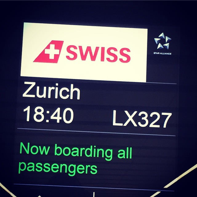 First flight on @swissairways LHR - ZRH. If the boarding process what anything to go by this will be an epic flight #monsmission #europehustle #zurich