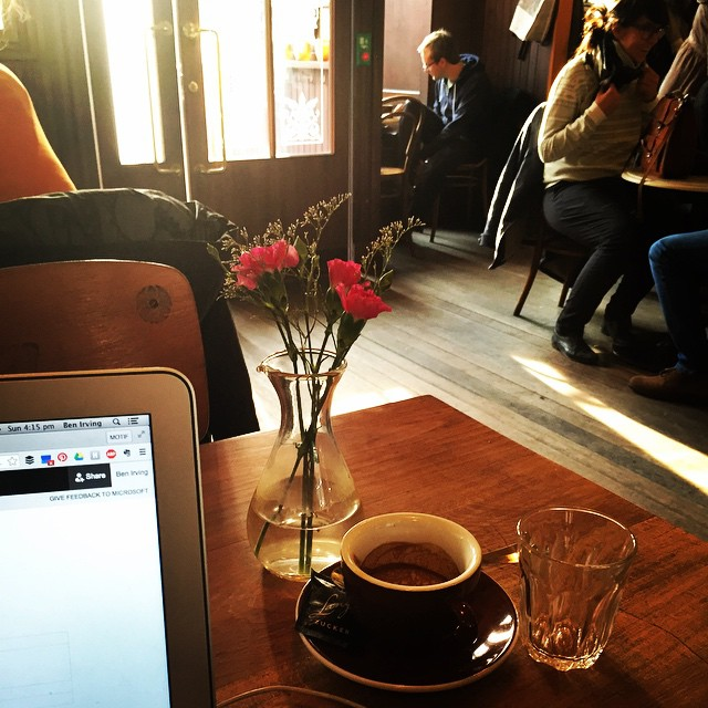 Amazing coffee, lovely staff, chilled music and a great place to work the Sunday afternoon away - Cafe Lang #zürich #switzerland #InLoveWithSwitzerland #monsmission