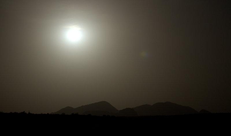 Moonlit Desert, Wadi Rum