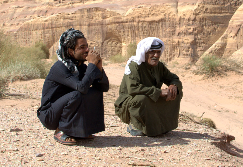 Bedouin Guide, Auwdeh and Salah