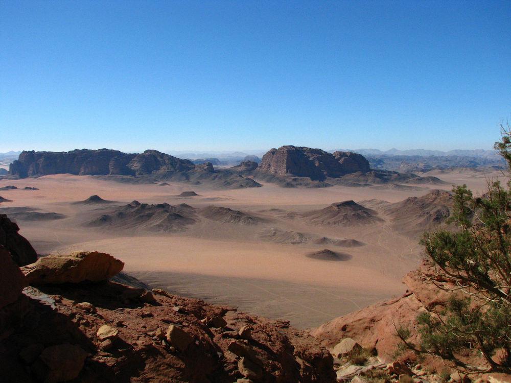 Wadi Rum Lanscape