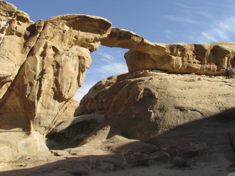Wadi Rum - Um Frouth Arch.JPG