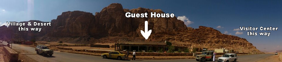 The Guest House is also known as the Rest House & the Hillawi Rest. All three names are for the same place.