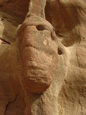 Wadi Rum - Rock formations