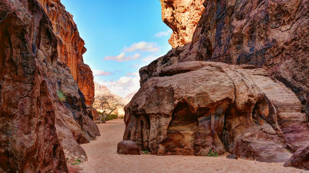 Abu Khshybr Canyon