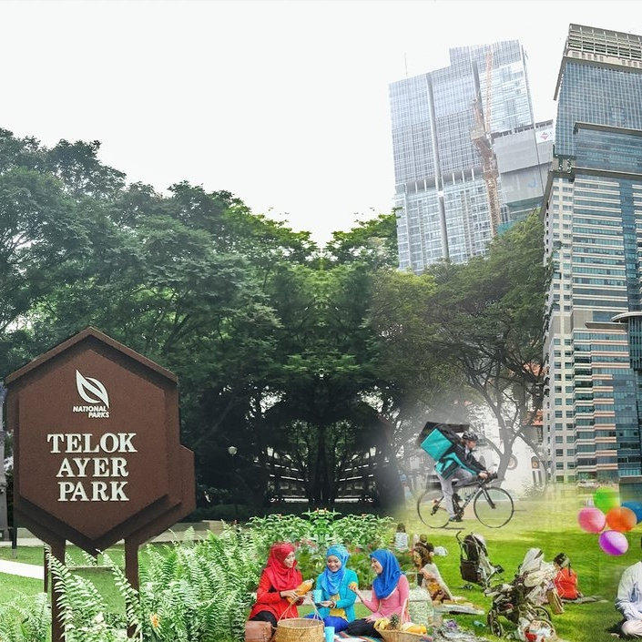 Placemaking in the park - Telok Ayer Park