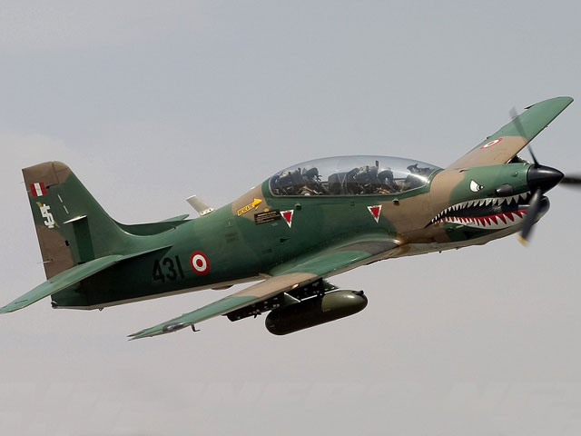 Embraer Tucano 312 of the Peru Air Force