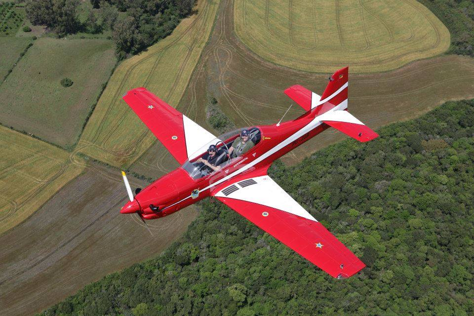 Tucano-R Replica in Brazil