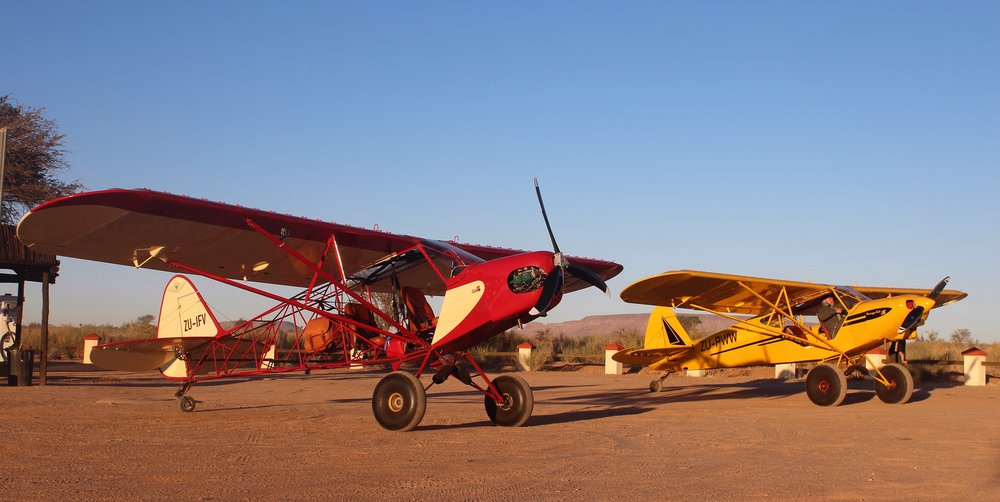 CLICK ON THE PHOTO FOR THE FULL BUSH FLYING STORY