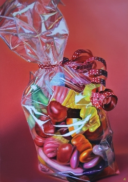 """Seventy Sweethearts"" created by UK artist Sarah Graham,"