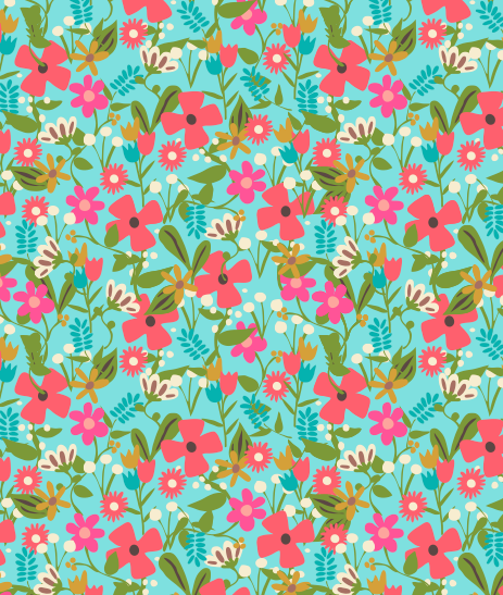 Spring Ditsy Floral