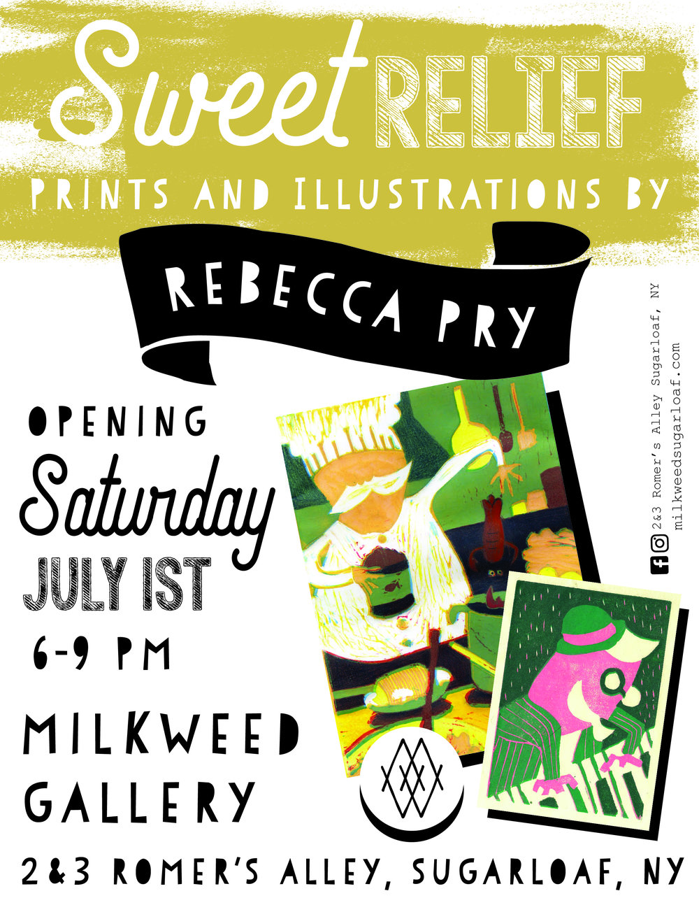 Sweet Relief Solo Show