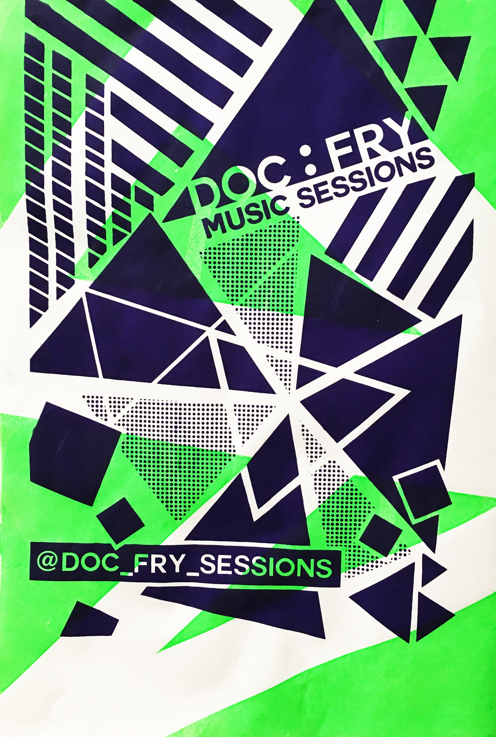 Doc Fry Music Sessions : Promotional Poster