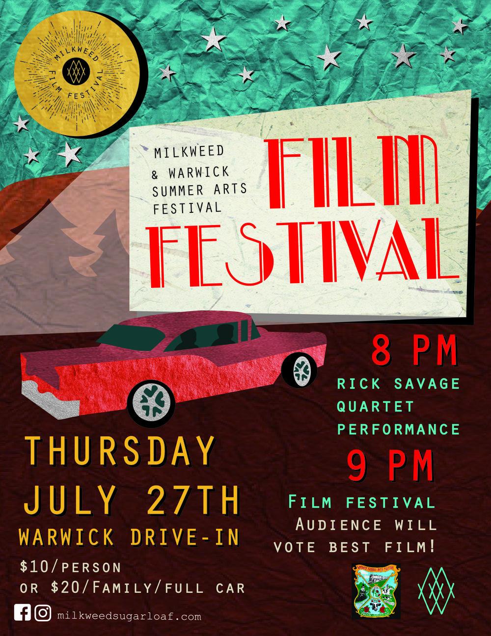 Milkweed Film Festival Poster