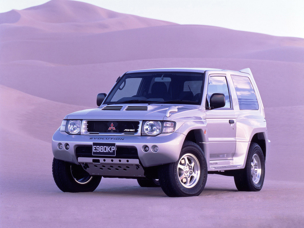 pajero-evolution