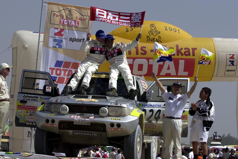Doing what it does best, the Pajero Evolution was still competitive in long-distance rallies well into the 2000s.