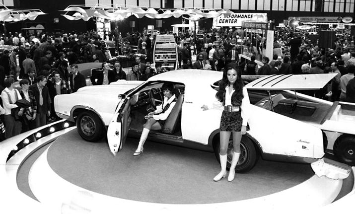 At the 1971 Chicago Auto Show