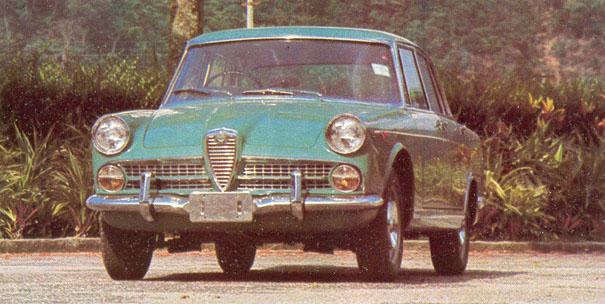 The Alfa Romeo 2000-based FNM JK 2000