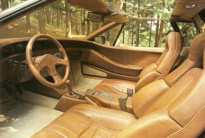 Prototype interior (click to expand)