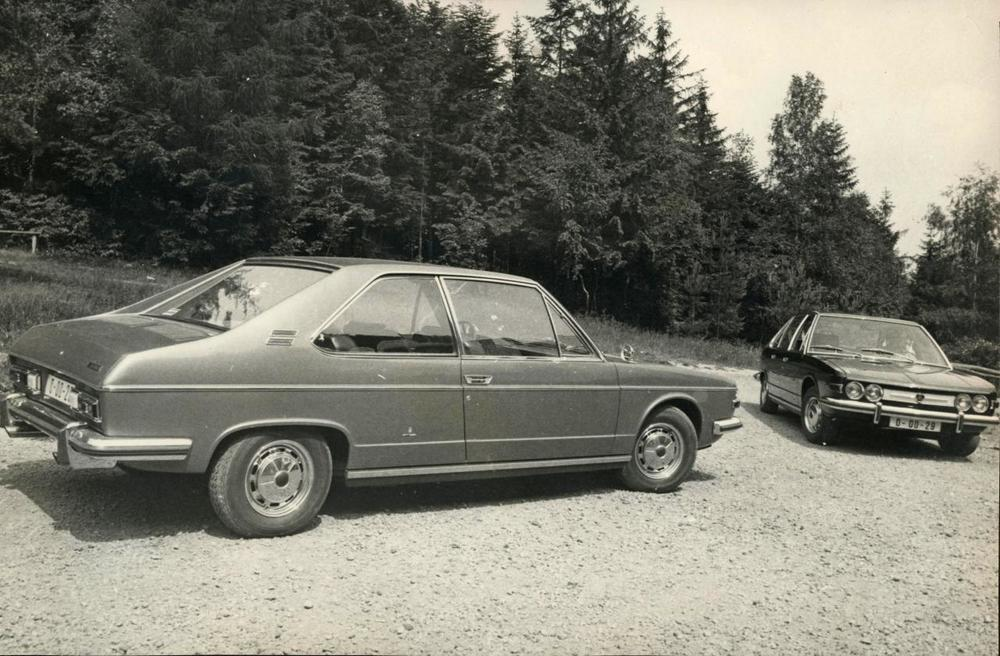 The Vignale coupe and sedan prototypes in period.