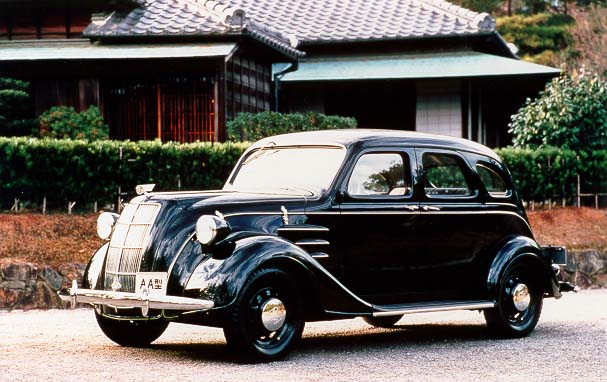 Toyota AA sedan, inspiration for the Toyota Classic