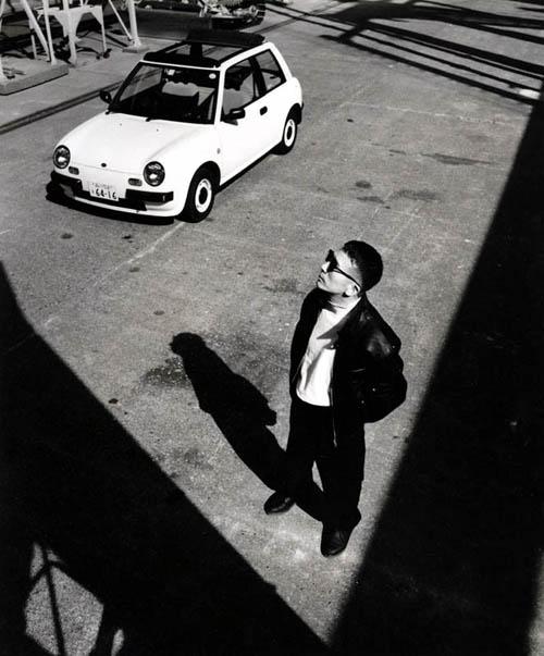 Naoki Sakai and the Nissan Be-1.
