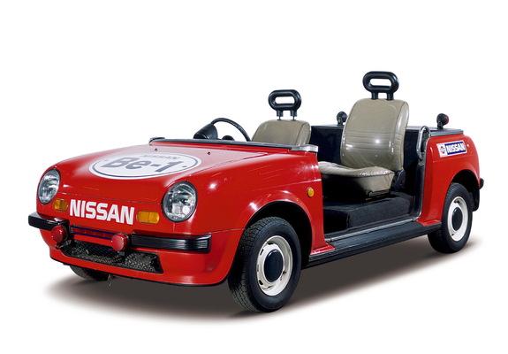 Nissan Be-1-based stadium car.