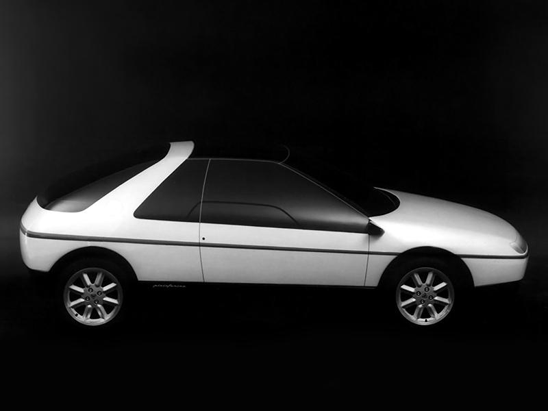 Lancia HIT styling model