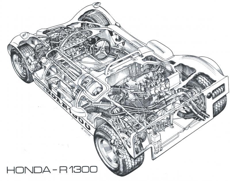 Honda R-1300