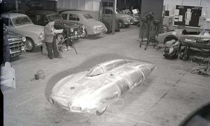 MG EX181 during construction