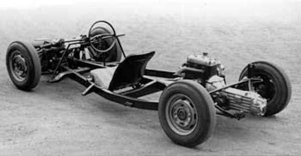 Melkus RS 1000 chassis