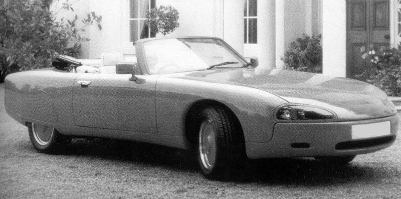Rare photo of the F29 Claremont when first shown in 1989.