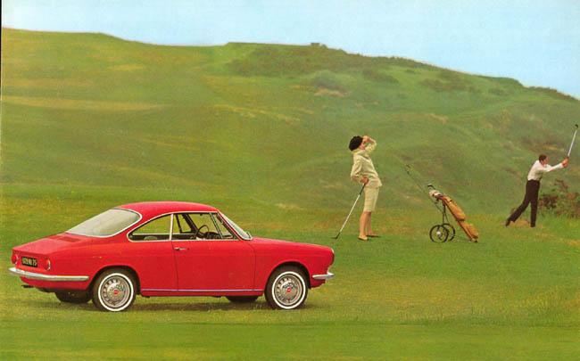 Simca 1000 Coupé by Bertone