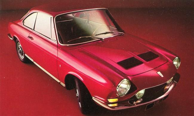 Simca 1200 S Coupé by Bertone