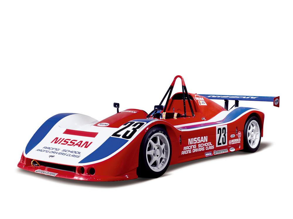 Nissan Saurus Jr. race car