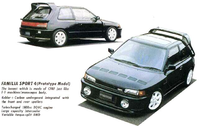 MazdaFamilia Sport 4