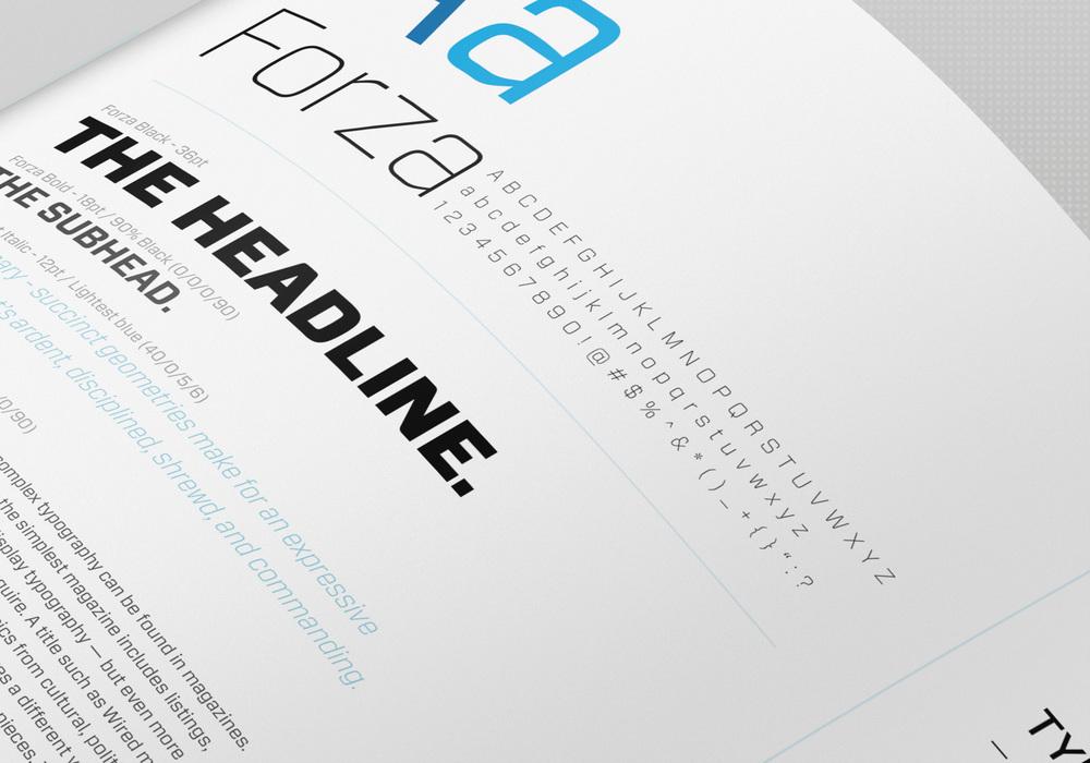 Typography treatments