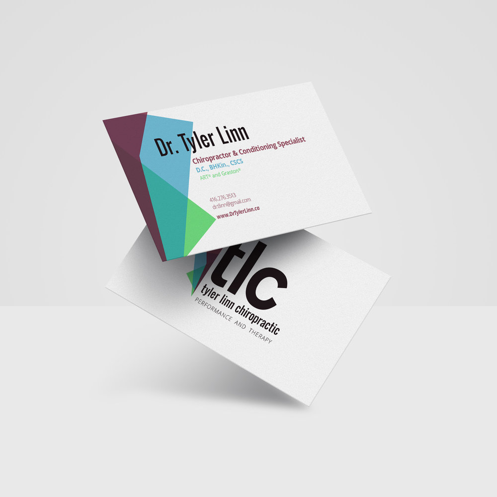 Branding - business cards.