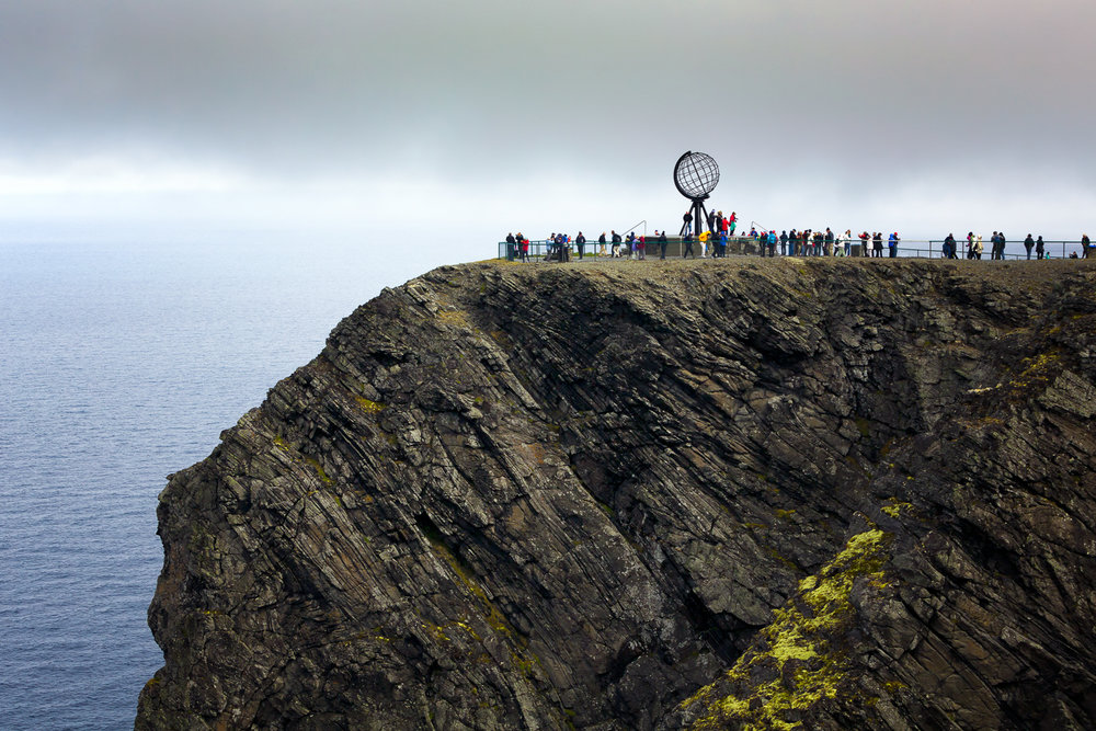 North Cape Crowds
