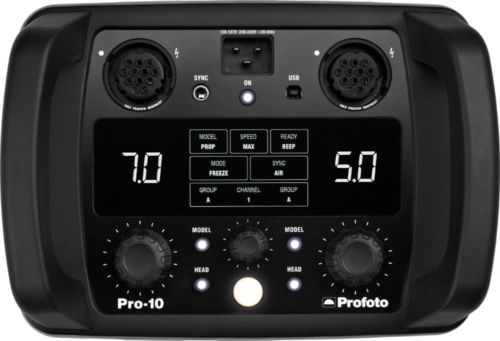 Profoto Pro10 now available to rent at Gripvan London