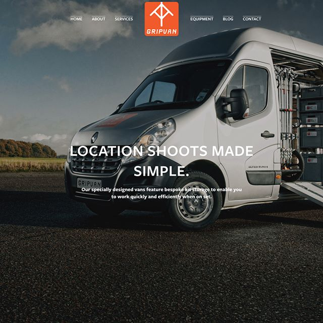 We're live! #newwebsite Let us know what you think of the new look gripvan.com