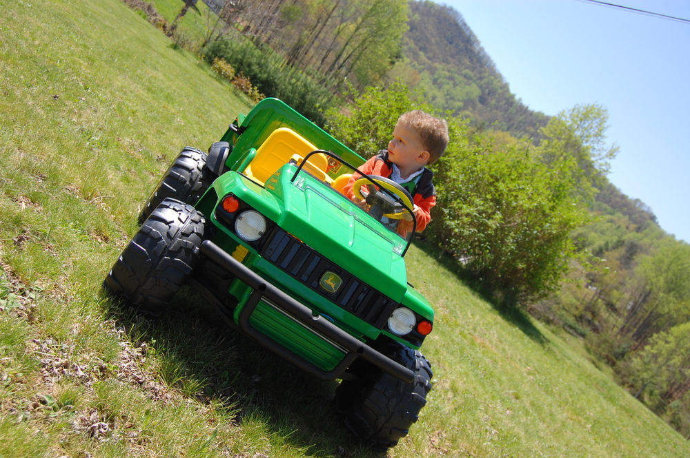 Spring 2011 on his Gator