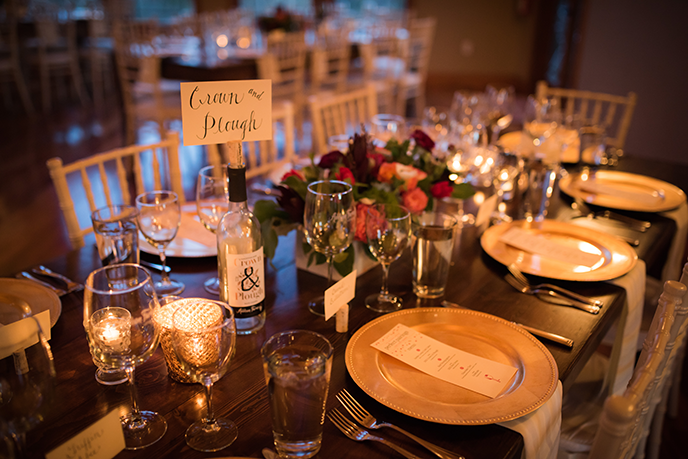 Table setting for Perfect Pairings at Addison Farms Vineyard 6 Feb 2015. Image by Jen Burrell Photography.